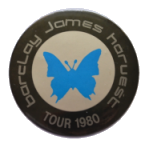 1980 BJH tour standard badge