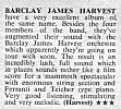 Review of debut album, Disc and Music Echo, 20th June, 1970