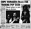 South Africa Sunday Times, 1st October, 1972