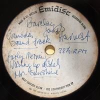 Granada acetate label from 1968