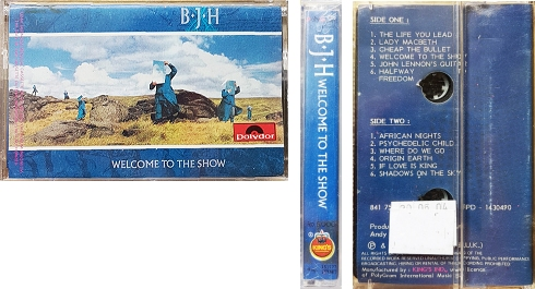 Indonesia Welcome To The Show cassette