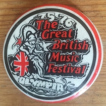 Great British Music Festival badge