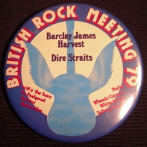 1979 British Rock Meeting badge