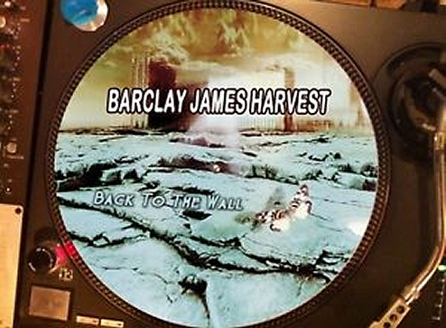 12 inch bootleg picture disc of 'Back to the Wall'