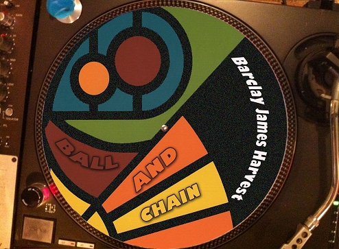 12 inch bootleg picture disc of 'Ball and Chain'