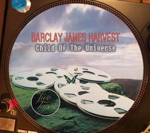 12 inch bootleg picture disc of 'Child Of The Universe'