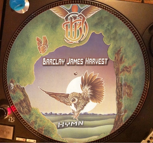 12 inch bootleg picture disc of 'Hymn'
