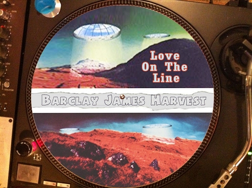 12 inch bootleg picture disc of 'Love On The Line'