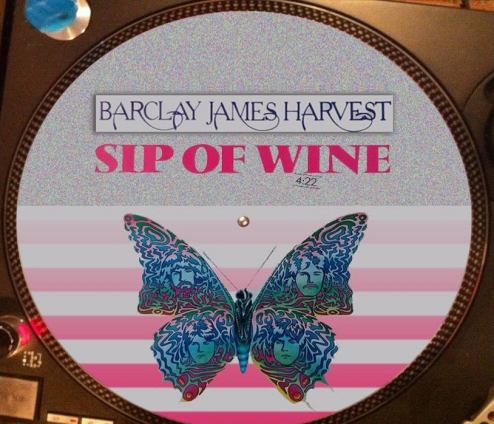 12 inch bootleg picture disc of 'Sip Of Wine'