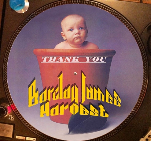 12 inch bootleg picture disc of 'Thank You'