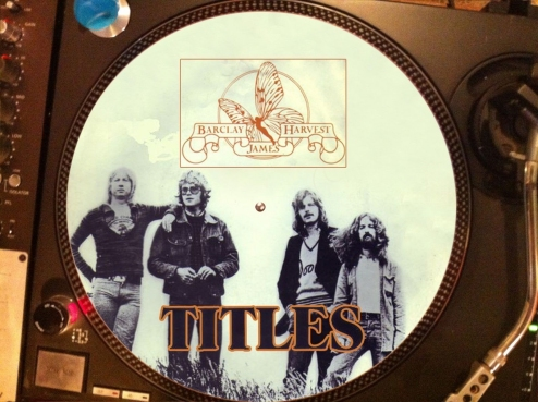 12 inch bootleg picture disc of 'Titles'
