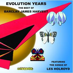 Evolution Years - The Best Of Barclay James Harvest Featuring The Songs Of Les Holroyd CD cover