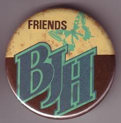 Friends Of Barclay James Harvest badge from 1978