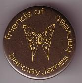 Friends Of Barclay James Harvest badge from 1981