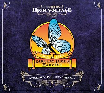 John Lees' Barclay James Harvest - High Voltage CD digipack artwork