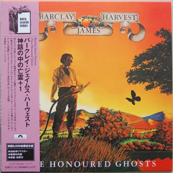 Time Honoured Ghosts Japanese mini-LP (second issue)