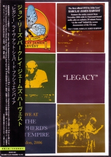 Legacy Japanese DVD cover