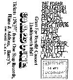 1969 Manchester Houldsworth Hall flyer