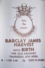 1971 Bristol Granary Club poster