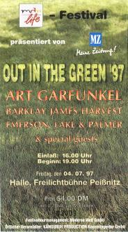 Out In The Green Halle ticket
