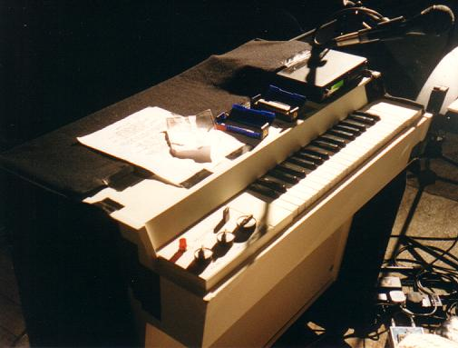 Woolly's current Mellotron M400