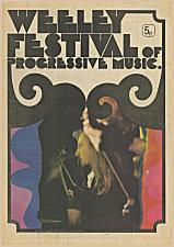 1971 Weeley Festival programme - click to download whole programme as pdf file